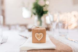 wyresdale park wedding favours