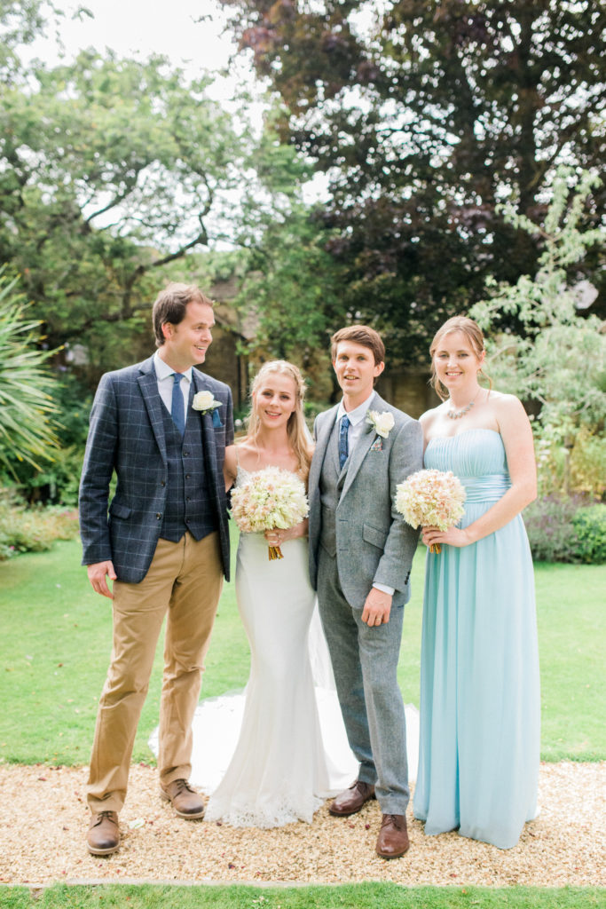 wedding photos at the bay tree Burford