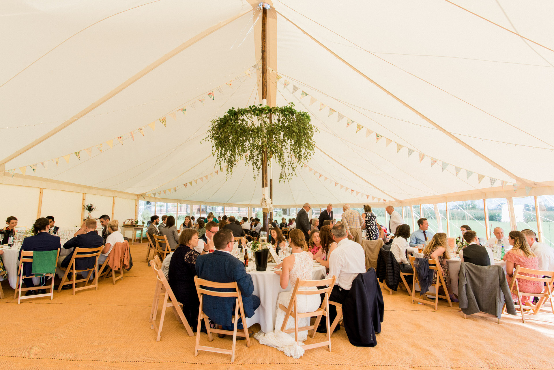 marquee wedding North Yorkshire