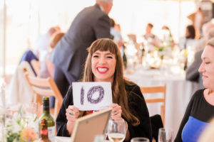 wedding guest scores speeches a ten