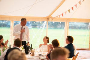 father of the bride speech in marquee