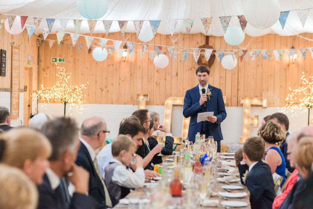 grooms speech at wellbeing farm