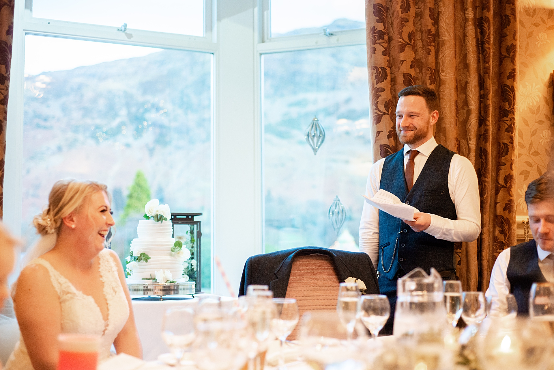Lake District groom's wedding speech