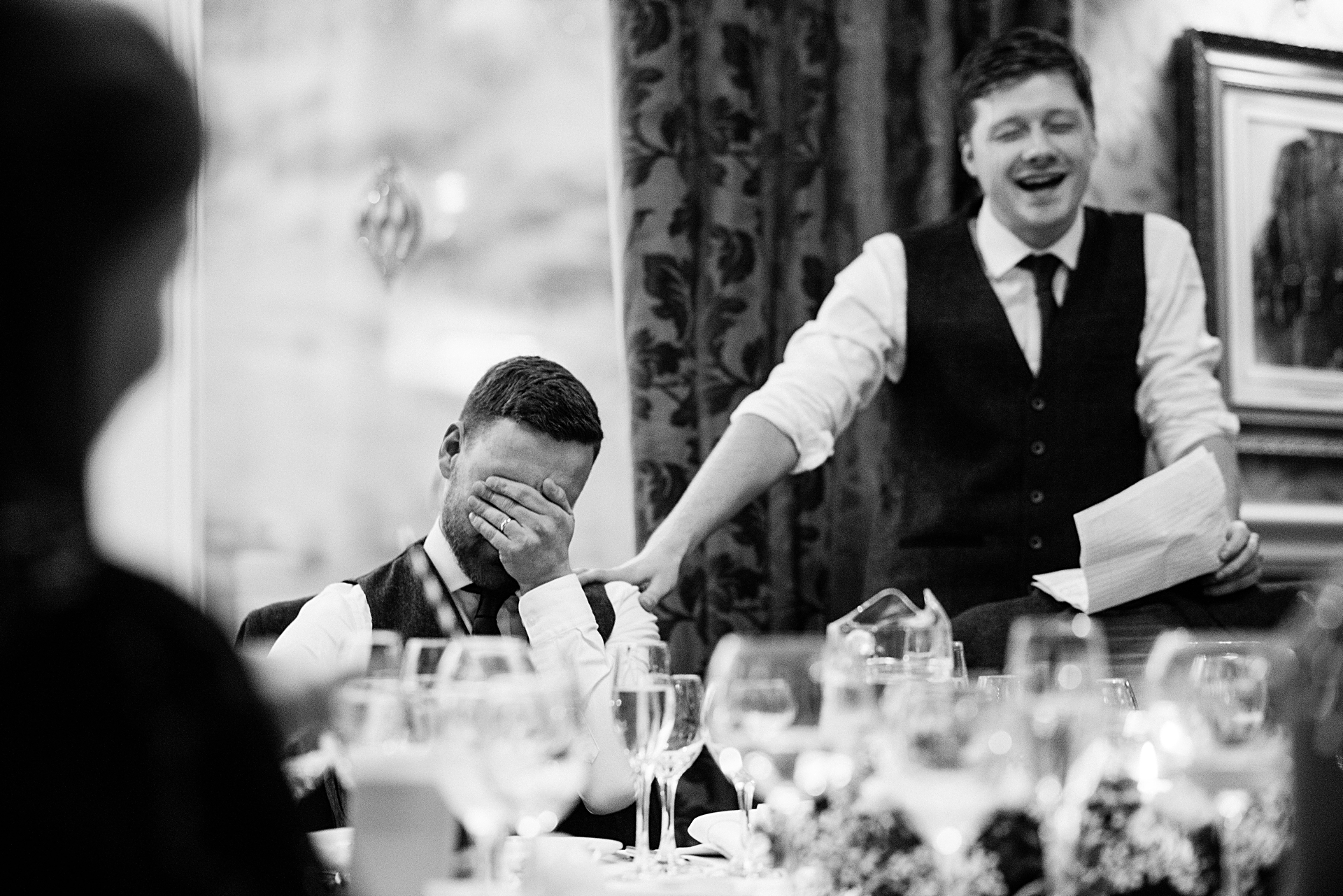 best mans speech embarrasses groom