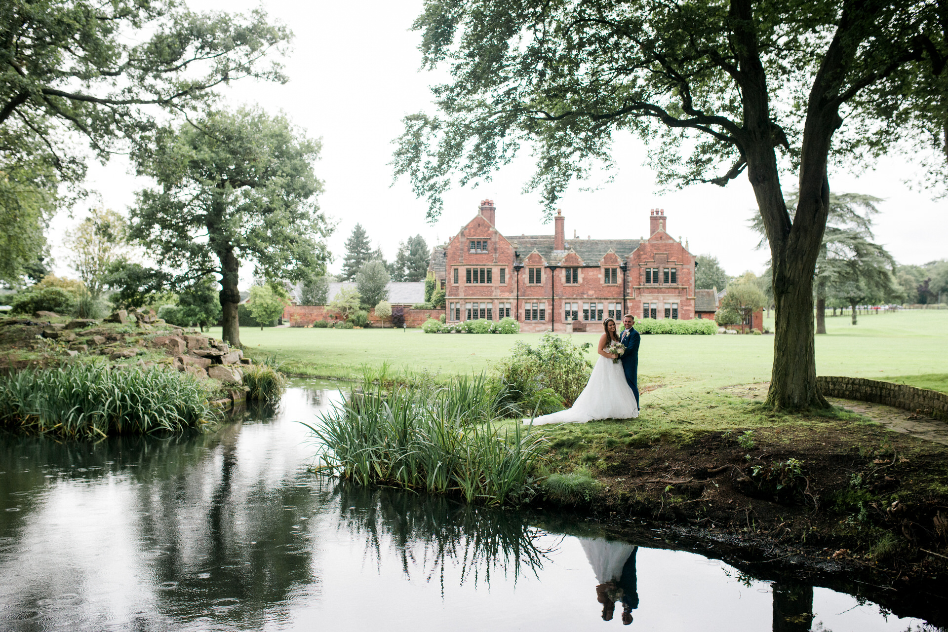 small wedding at colshaw hall