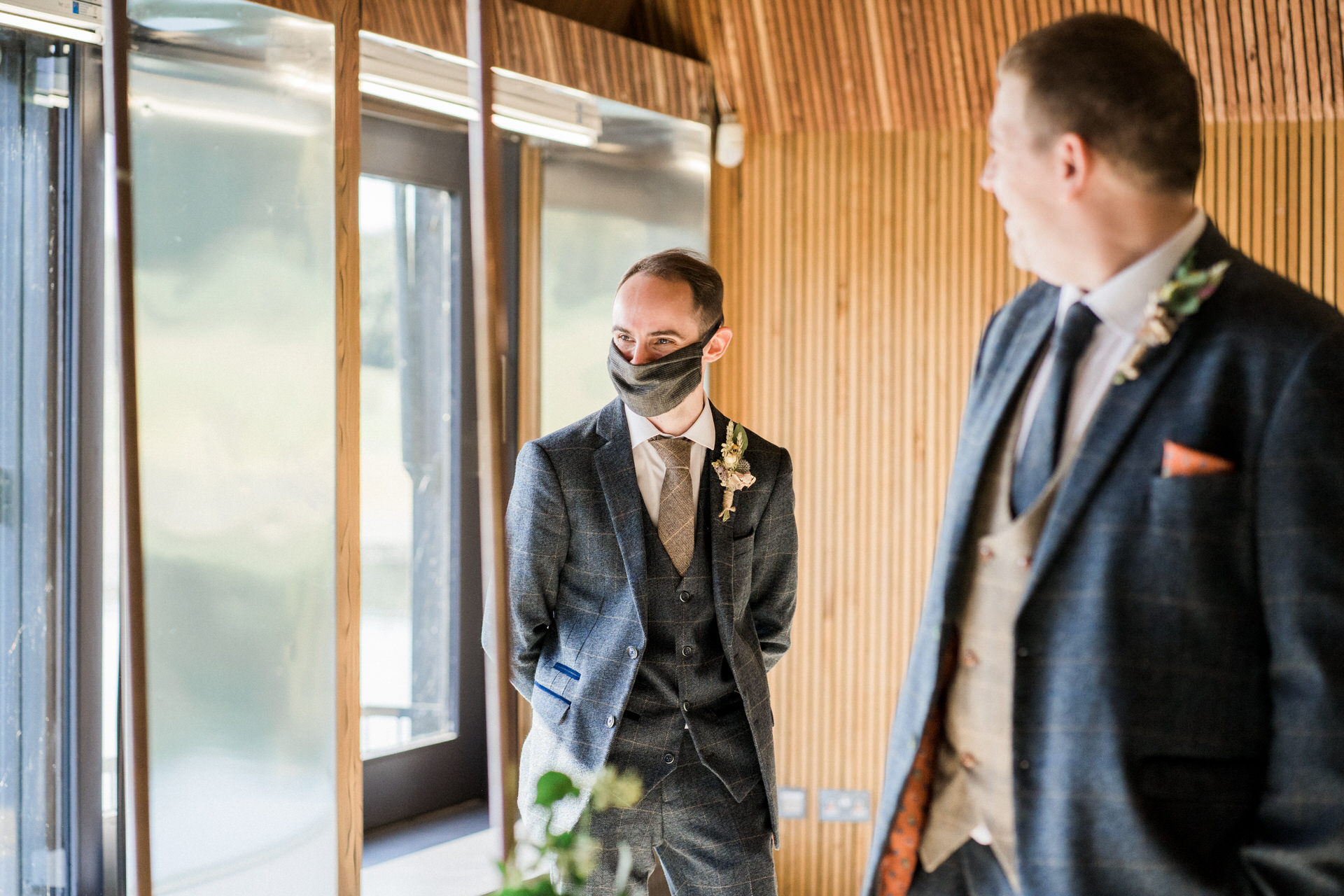 lockdown wedding at brockholes