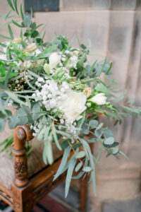 bridal bouquet at the merewood country house hotel