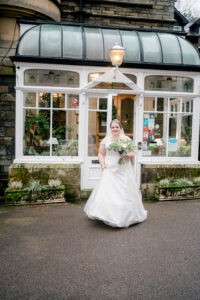 dress reveal at merewood country house hotel