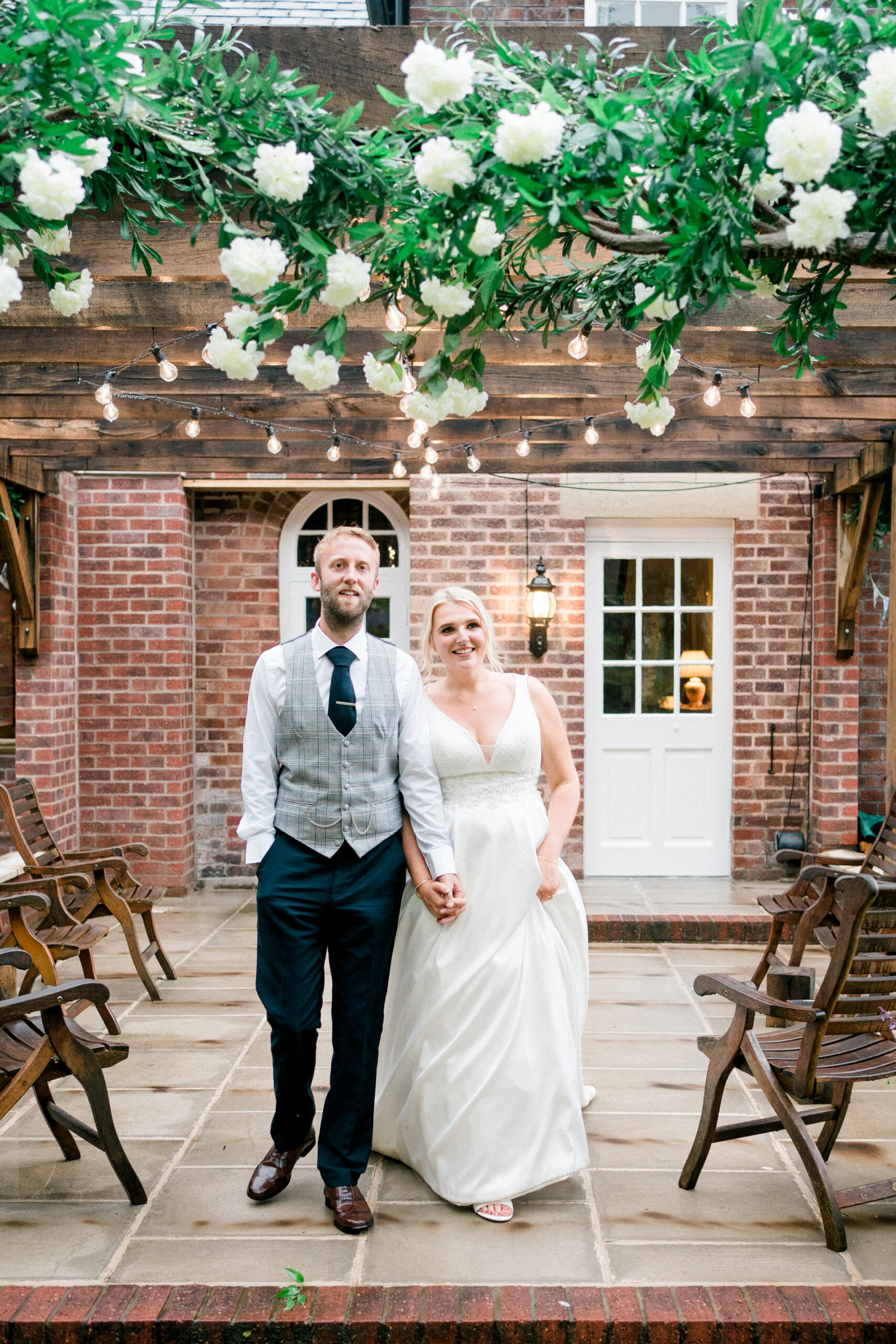 marquee wedding at home Lancashire
