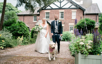 A marquee wedding at home in Lancashire