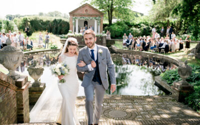 A Micklefield Hall wedding with Greek and English traditions