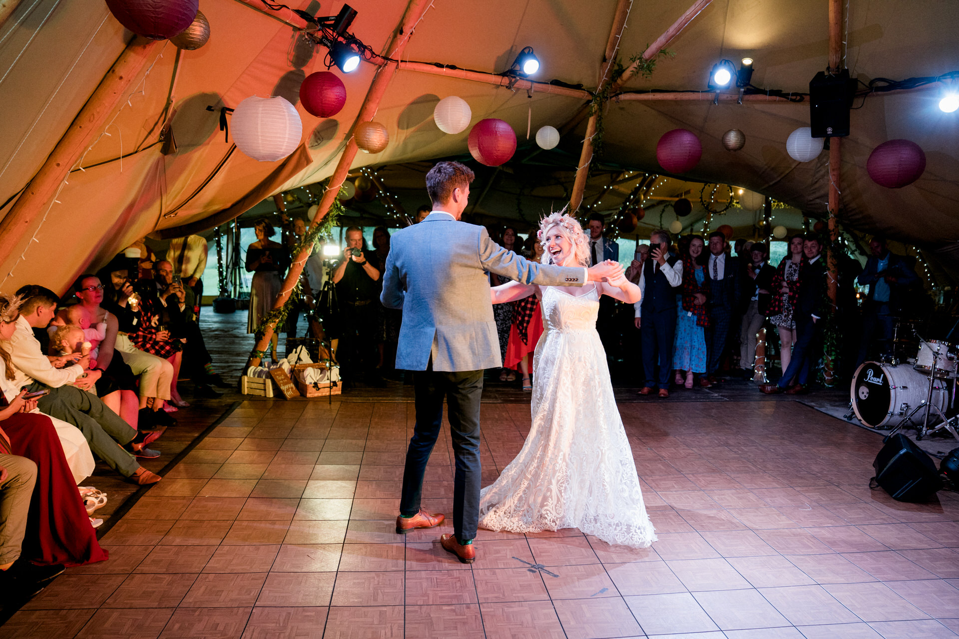 first dance in tipi