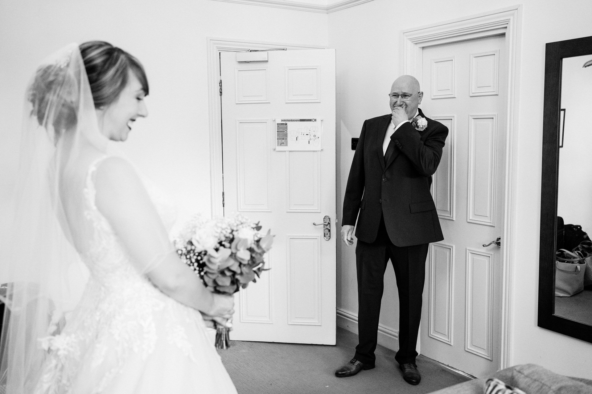 father of the bride emotional