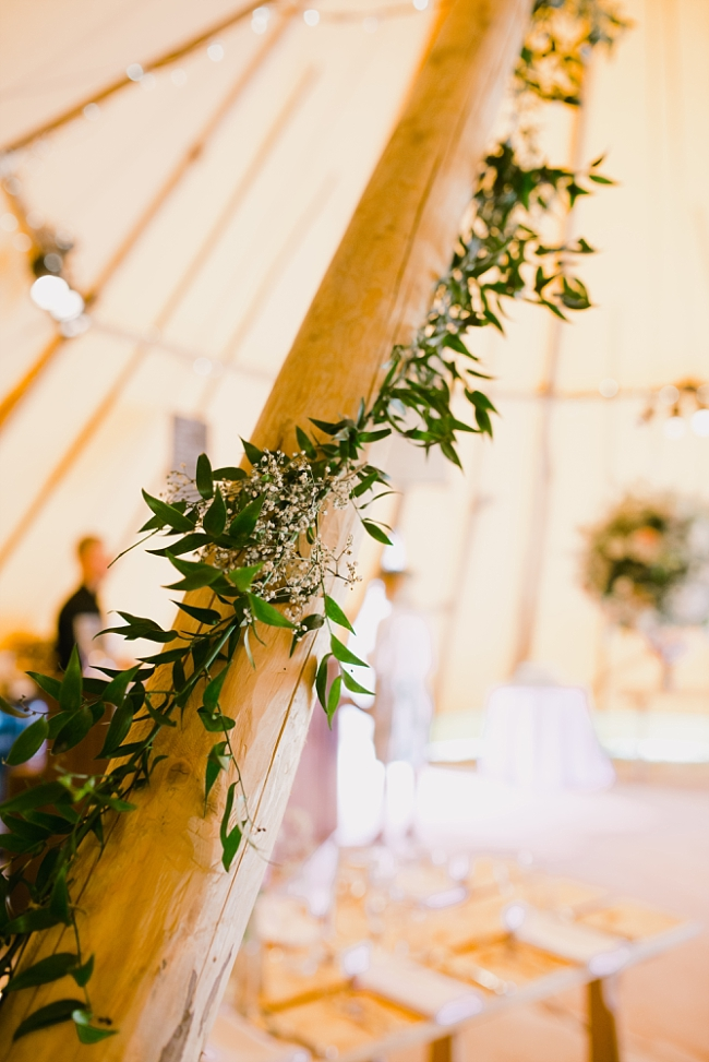 ivy in a tipi