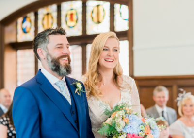 ceremony at altrincham town hall