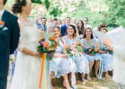festival themed wedding in Lancashire