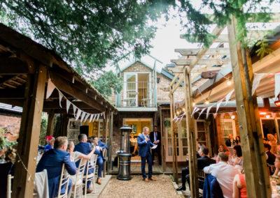 grooms speech at Didbury park