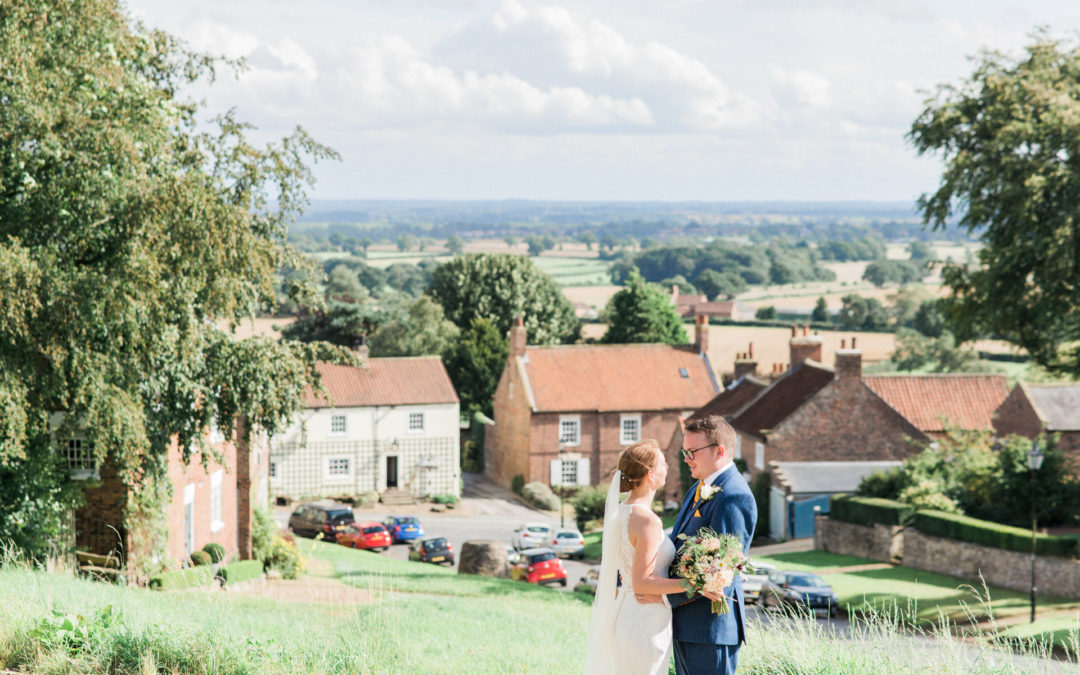 A marquee wedding in North Yorkshire