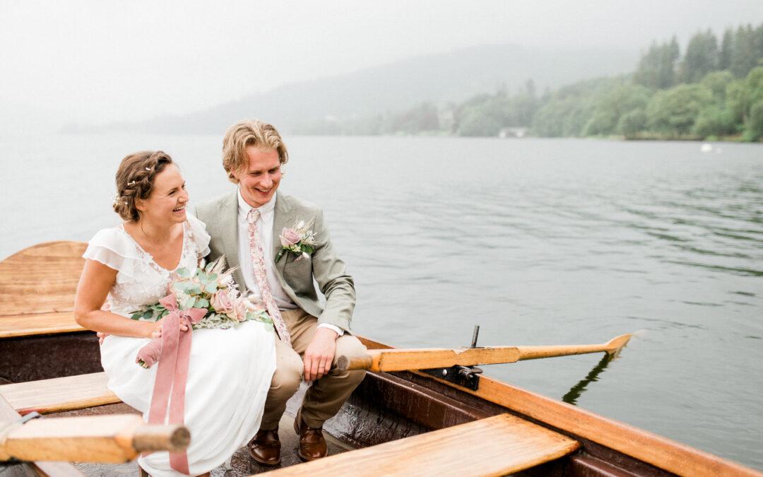 small Lake District wedding