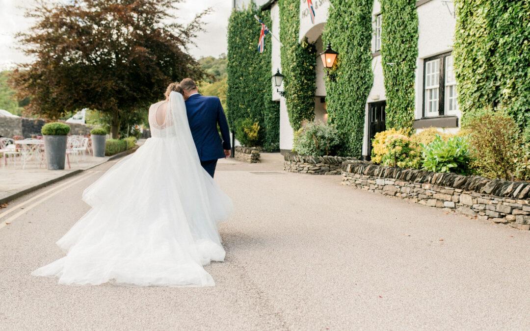 swan hotel newly bridge wedding