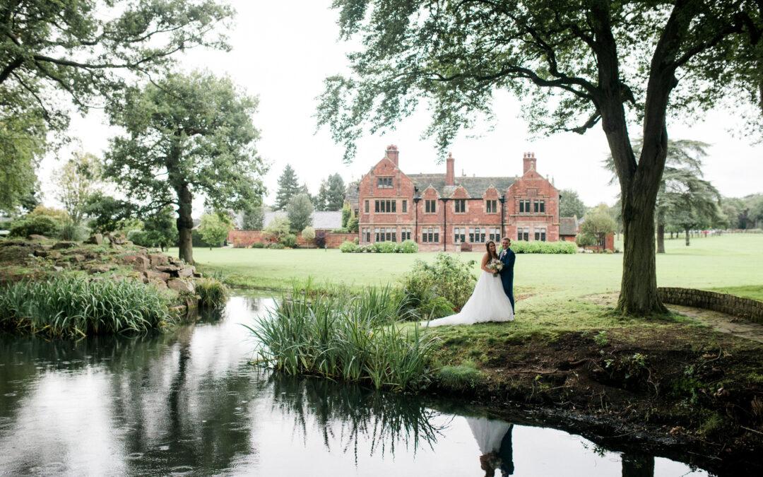 A small wedding at Colshaw Hall