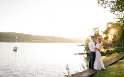 A wedding at Hodge Howe Windermere
