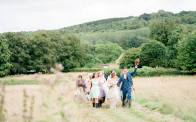 A marquee wedding in The Cotswolds